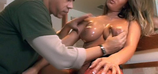 Trina Michaels Teases Her Huge Breasts